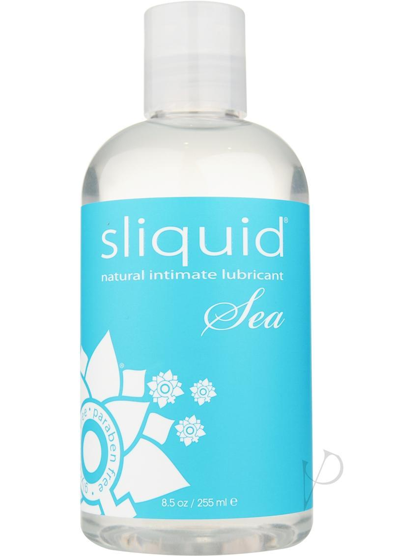Sliquid Naturals Sea With Carrageenan Natural Intimate Lubricant 8.5oz